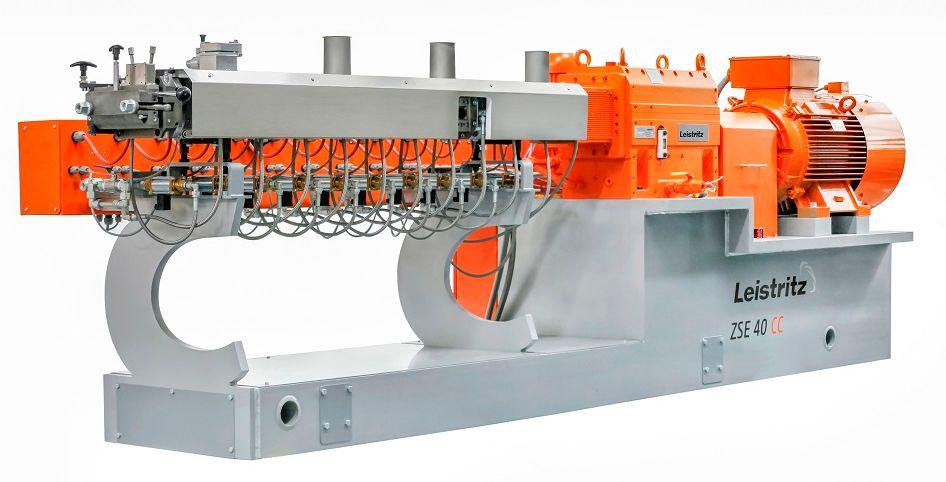 莱斯特瑞兹展出CC系列双螺杆挤出机