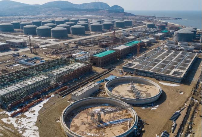 浙江石化乙烯项目模块化施工高效推进