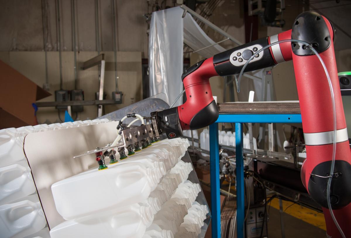 Cox Container 部署Sawyer智能协作机器人