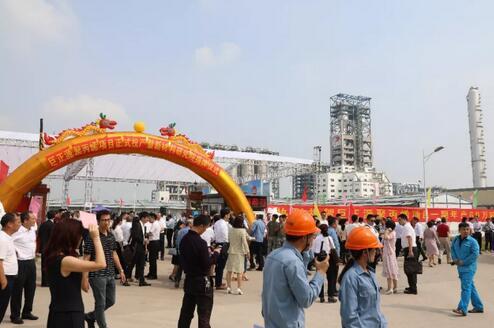 巨正源聚丙烯一期正式投产快速启动二期建设