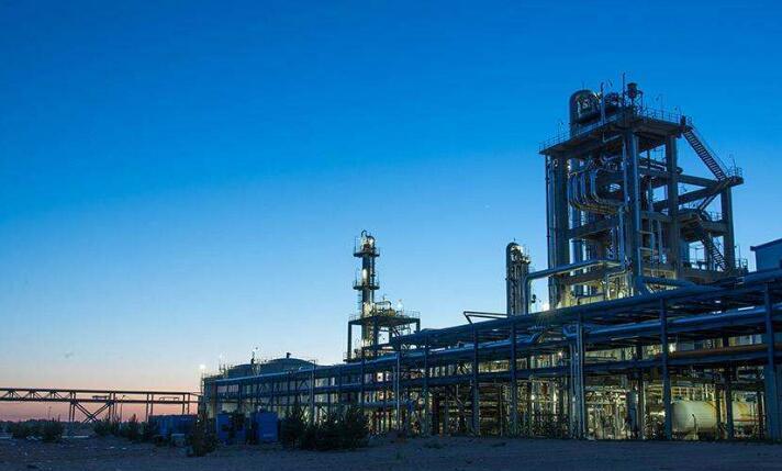 四建承建中科项目高密度聚乙烯装置变电所受送电成功