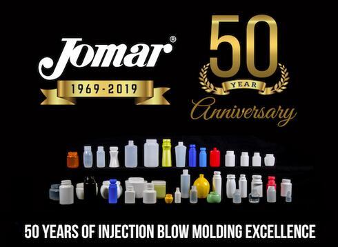 注塑机制造商Jomar公司庆祝成立50年