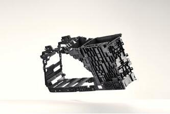 中控台支架采用碳纤维增强PP