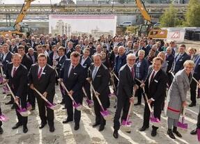 赢创聚酰胺PA12新工厂在德国马尔正式破土动工