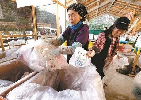 我国积极应对垃圾污染,日本